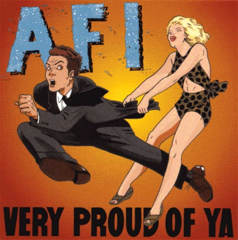 AFI ‎– Very Proud Of Ya (1996) - New LP Record 2014 Nitro Unknown Color Vinyl - Punk