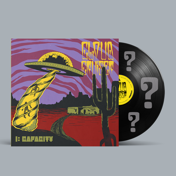 Cloud Cruiser - I: CAPACITY - New Lp Record 2020 Shuga Colored Vinyl, Insert, Poster & Signed by Band - Stoner Rock / Doom Metal / Sludge