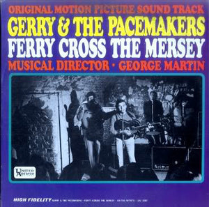 Gerry & The Pacemakers ‎– Ferry Cross The Mersey - VG+ Lp Record 1965 USA Mono Original Vinyl - Sountrack / Rock / Pop