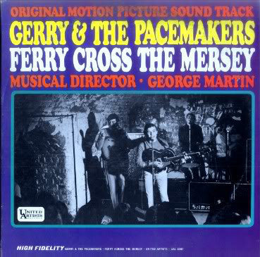 Gerry & The Pacemakers - Ferry Cross The Mersey Original Motion Picture Soundtrack - VG+ 1965 Mono USA Original Press - Soundtrack/Rock/Beat