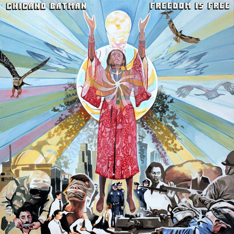 Chicano Batman - Freedom Is Free - New Lp Record 2017 ATO USA Limited Fire Orange Vinyl & Download - Funk / Cumbia / Psychedelic