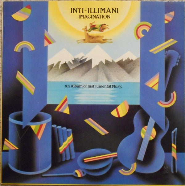 Inti-Illimani ‎– Imagination - Mint- Lp Record 1985 USA Original Vinyl - Latin / Charanga