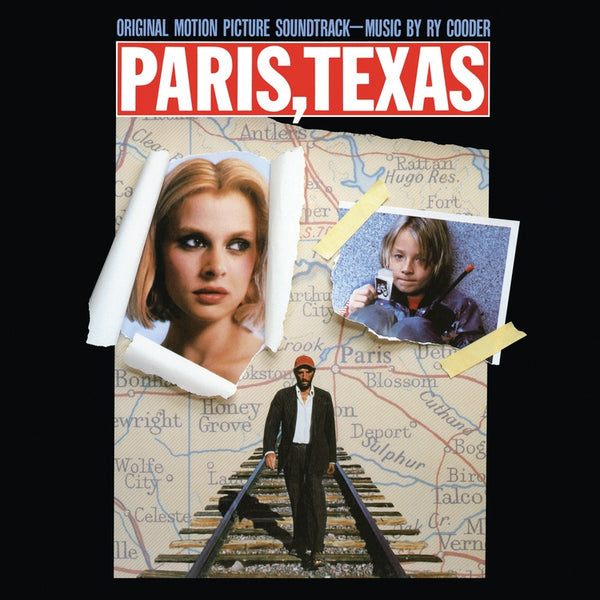 Ry Cooder ‎– Paris, Texas (Original Motion Picture) - New Vinyl Lp 2019 Real Gone Music Limited Edition Reissue on White Vinyl - 80's Soundtrack