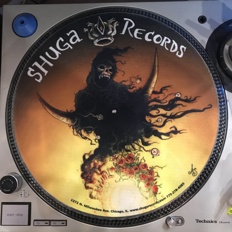 Shuga Records 2018 Limited Edition Vinyl Record Slipmat King Death