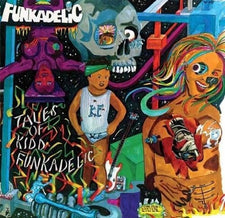 Funkadelic ‎– Tales Of Kidd Funkadelic (1976) - New Vinyl 2016 Limited Edition 4 Men With Beards Gatefold Reissue on Blue & Green Vinyl (Only 500 Made) - P.Funk
