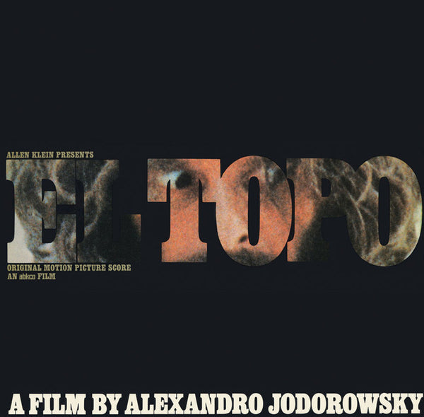 Soundtrack - Alejandro Jodorowsky's El Topo - New Vinyl 2016 Real Gone Music Limited Edition of 450 on Coke Bottle Clear Vinyl!
