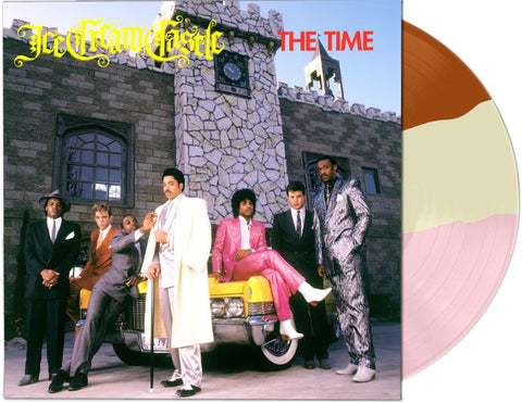 The Time ‎– Ice Cream Castle - New Lp Record 2018 Warner USA Neapolitan Split Color Vinyl - Funk Rock