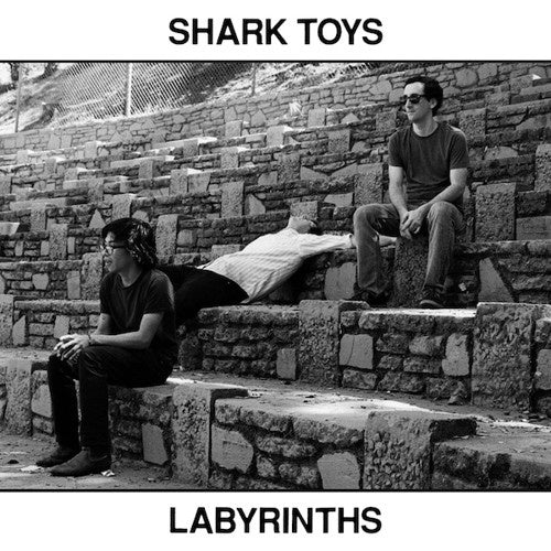 Shark Toys ‎– Labyrinths - New Vinyl Lp 2018 In The Red Recordings EU Pressing with Download - Post-Punk