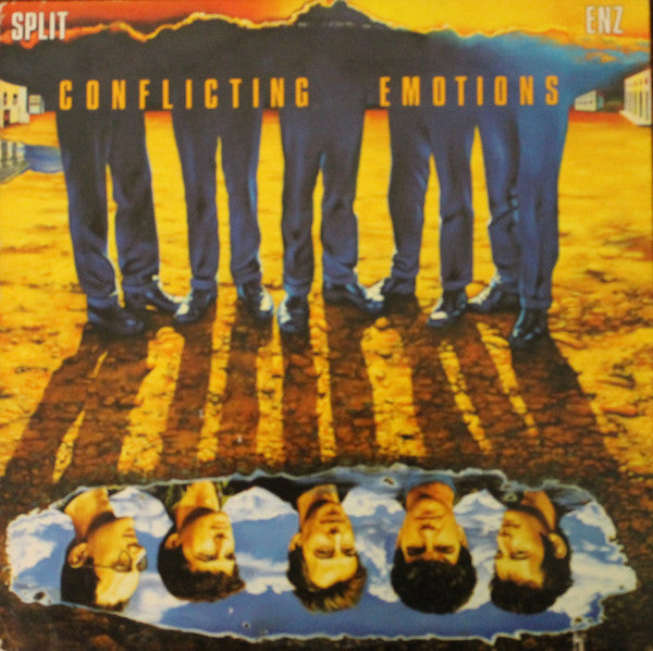 Split Enz - Conflicting Emotions - Mint- 1983 Stereo USA Original Press - Rock