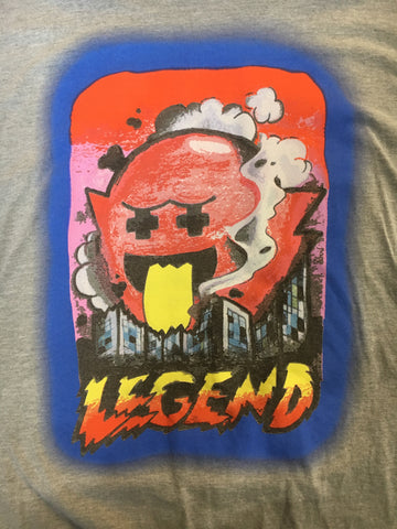 Pink Boo Legend Shirt/Nintendo by Pink+Dolphin (size XL) made in U.S.A.