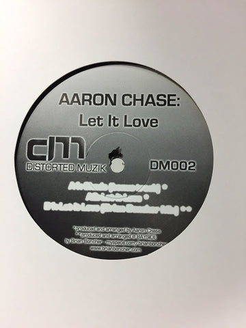 "Aaron Chase ‎– Let It Love - Mint- 12"" Single USA 2006 - Chicago House"
