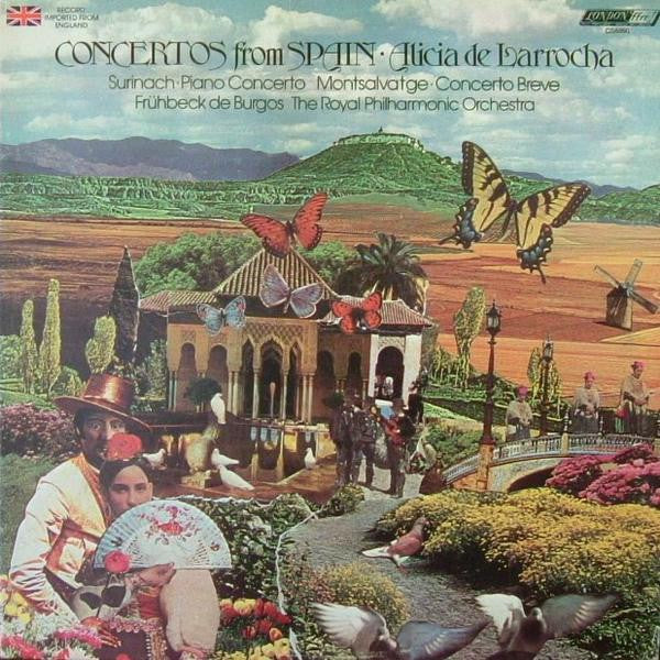 Alicia De Larrocha ‎– Concertos From Spain MINT- 1977 London Records Stereo LP (UK Import) - Classical / Modern