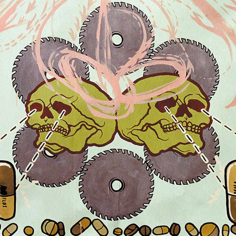 Agoraphobic Nosebleed ‎– Frozen Corpse Stuffed With Dope - New Vinyl Record 2016 Relapse Records Limited Edition Reissue with Insert and Download - Grindcore / Metal