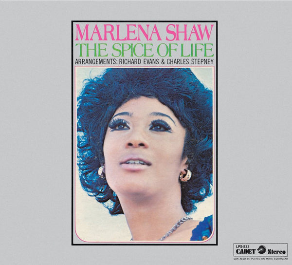 Marlena Shaw - The Spice of Life (1969) - New Vinyl Lp 2018 Cadet / UMe Reissue - Soul / Funk