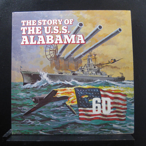 U.S. Navy Band And U.S. Navy Sea Chanters ‎– The Story Of The U.S.S. Alabama - Mint- 1976 USA Original Press Picture Disc - Spoken Word / Special Effects / Military