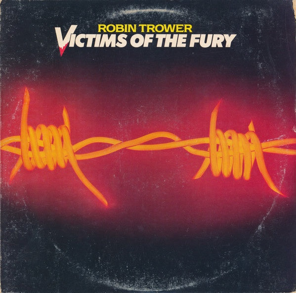 Robin Trower ‎– Victims Of The Fury - VG+ Lp Record 1980 Chrysalis USA Vinyl - Blues Rock / Hard Rock