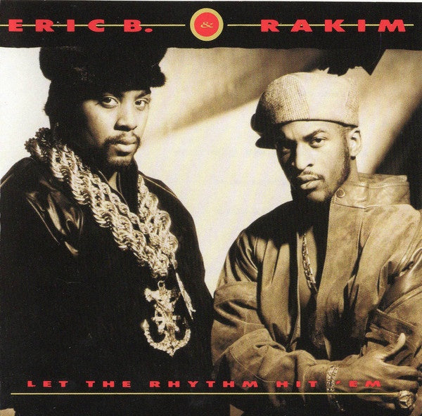 Eric B. & Rakim ‎– Let The Rhythm Hit 'Em (1990) - New 2 LP Record 2018 Geffen US Limited Edition Red Vinyl Reissue - Hip Hop