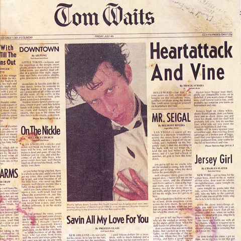 Tom Waits ‎– Heartattack And Vine (1980) - New Vinyl LP Record 2018 Reissue / Remaster - Rock / Jazz / Blues