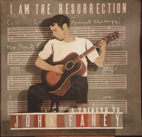 Various / Sufjan Stevens / ‎Devendra Banhart / Calexico / M Ward - I Am The Resurrection: A Tribute To John Fahey - New Vinyl Record 2 Lp Set 2013 USA RSD Record Store Day Limited edition Green Vinyl - Folk / Rock / Country