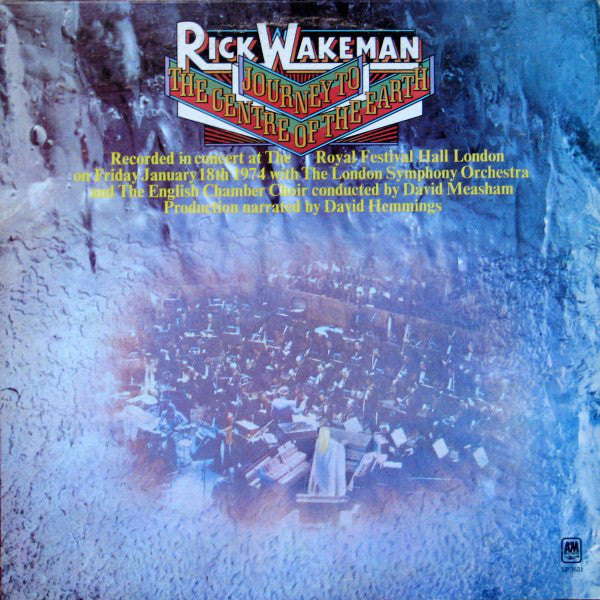 Rick Wakeman ‎– Journey To The Centre Of The Earth - Mint- Stereo USA 1974 - Rock