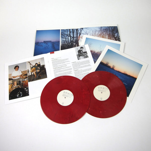 American Football - American Football (1999) - New Vinyl 2 Lp Record 2014 Polyvinyl USA 180gram Reissue on Red Vinyl with Previously Unreleased Material, Book & Download - Chicago, IL Emo / Indie Rock