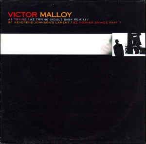 "Victor Malloy ‎– Trying EP - Mint 12"" Single Record 2001 UK Inertia Vinyl - Downtempo"