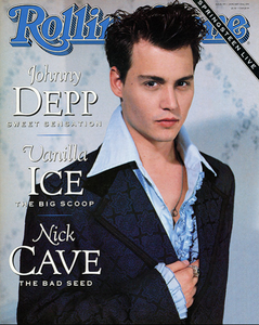Rolling Stone Magazine - Issue No. 595 - Johnny Depp