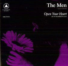 The Men - Open Your Heart - New Vinyl 2017 Sacred Bones '10th Anniversary' Reissue on Purple Vinyl, Limited to 500! - Post-Punk / Noise / Shoegaze