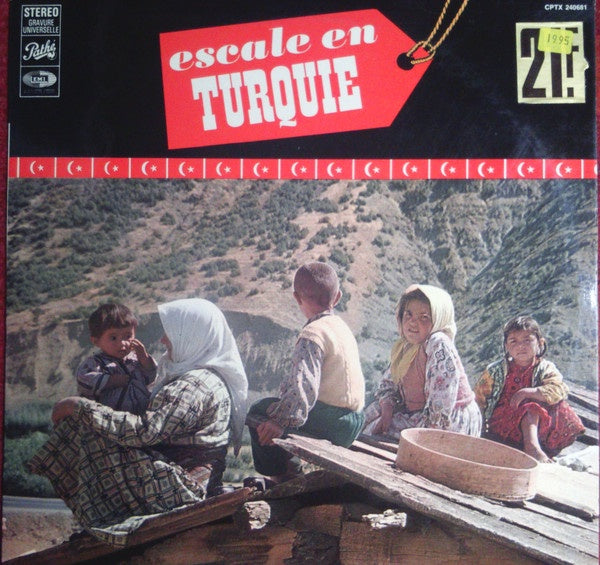 Various ‎– Escale En Turquie - Mint- Lp Record France Import Original Vinyl - International