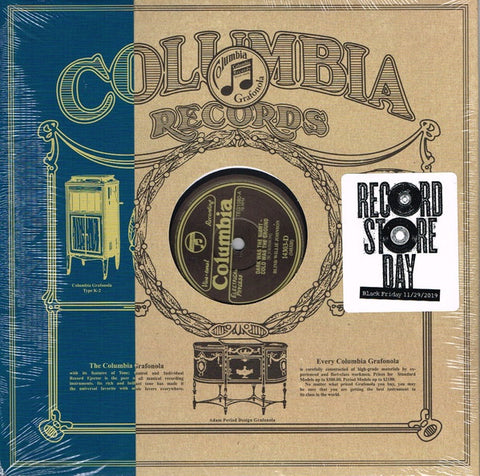 "Blind Willie Johnson ‎– Dark Was The Night, Cold Was The Ground / It's Nobody's Fault But Mine - New 10"" Single Record Store Day 2019 CBS USA RSD Black Friday 78 rpm Vinyl - Blues / Gospel"