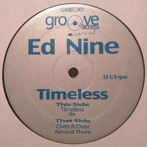 "Ed Nine ‎– Timeless - New 12"" Single Record 2016 USA Vinyl - Chicago House / Acid House"