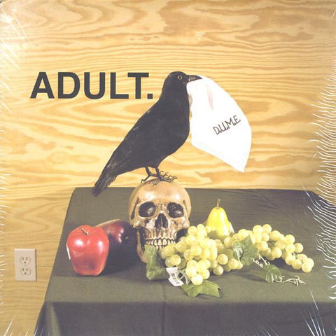 ADULT. ‎– D.U.M.E. - Mint- Ep Record 2005 Thrill Jockey USA Vinyl - Electronic /  Electro / Synth-pop