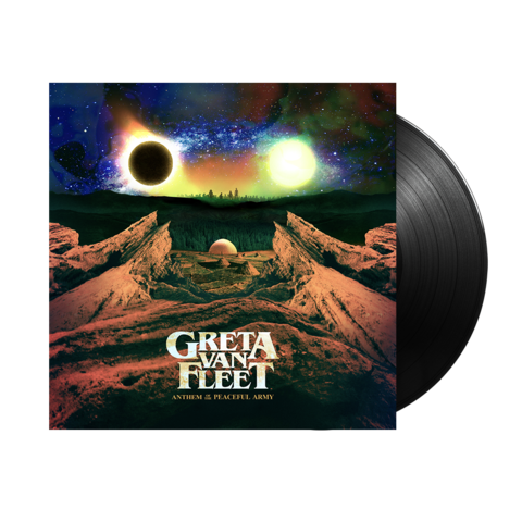 Greta Van Fleet - Anthem Of The Peaceful Army - New Vinyl Lp 2018 Republic Pressing - Blues Rock