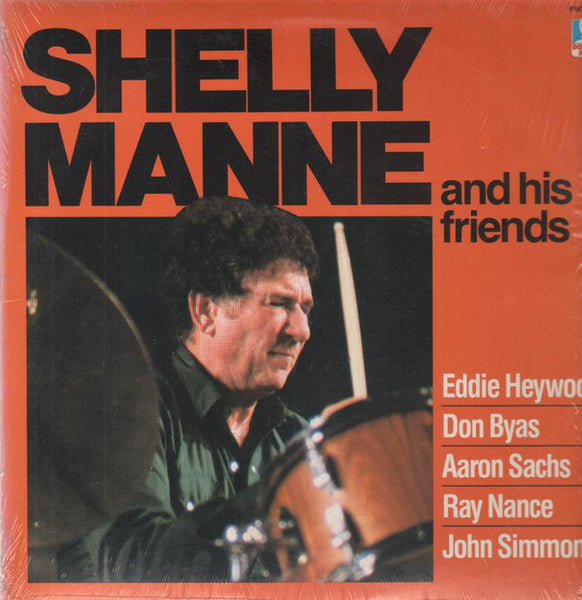 Shelly Manne & His Friends - Shelly Manne & His Friends - MINT- (VG- COVER) 1983 Stereo USA - Jazz
