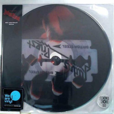 Judas Priest - British Steel (1980) - New LP Record Store Day 2020 Legacy Europe Import Picture Disc Vinyl - Heavy Metal