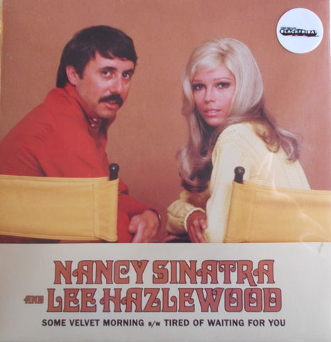 "Nancy Sinatra & Lee Hazlewood - Some Velvet Morning/Tired Of Waiting For You (1967) - New 7"" Single Record Store Day Black Friday 2020 Light in The Attic USA RSD Orange Splatter Vinyl - Pop Rock"