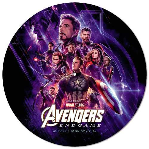 Alan Silvestri - Avengers : Endgame - New 2019 Record LP Vinyl Picture Disc - Marvel / Soundtrack