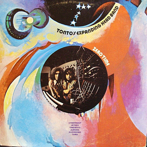 Tonto's Expanding Head Band - Zero Time - VG- (Low Grade) 1971 Stereo USA - Electronic/Jazz/Ambient