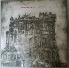 Kowloon Walled City ‎– Turk Street - New Vinyl 2017 Gilead Media Reissue EP on Black Vinyl with Download - Post-Hardcore / Sludge Metal / Noise