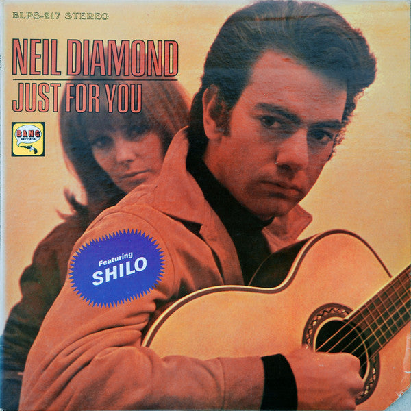Neil Diamond - Just For You - VG+ 1967 Stereo (Original Press) USA - Rock/Pop