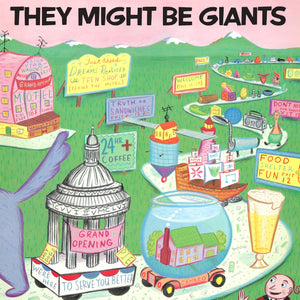 They Might Be Giants ‎– S/T (1986) - New LP Record 2019 Idlewild USA Limited Edtion 180g Opaque Pink Vinyl - Alternative Rock