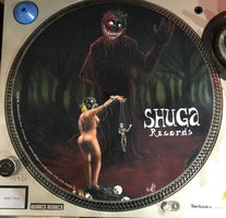 Shuga Records 2018 Limited Edition Vinyl Record Slipmat Spooky Puppet