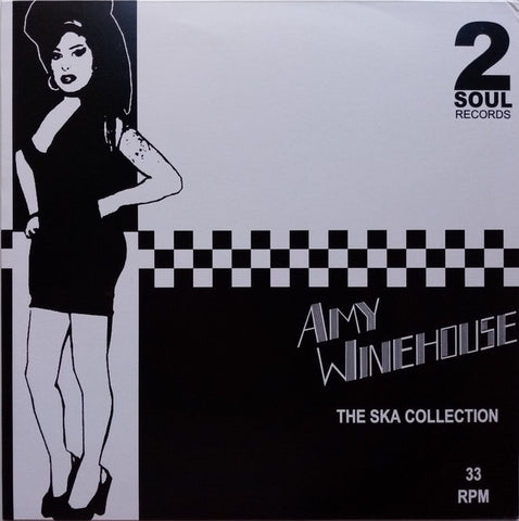 Amy Winehouse ‎– The Ska Collection (2014) - New Lp Record 2020 2 Soul Europe Import Silver/Grey Vinyl - Reggae / Pop / Ska