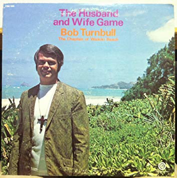 Bob Turnbull - The Husband & Wife Game - VG+ LP Creative Sound USA - Spoken Word