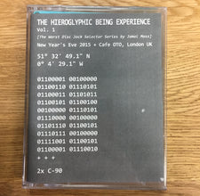 Hieroglyphic Being ‎– The Hieroglyphic Being Experience Vol. 1 - New Cassette Tape - Synthetic Sentiment 2x Cassette Promo Set, Hand-Numbered to 25 - Acid House / Deep House / Experimental