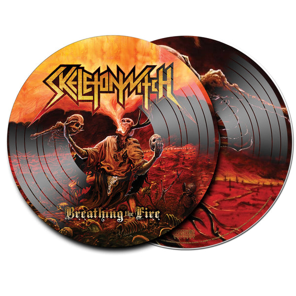 Skeletonwitch - Breathing The Fire - New Lp 2019 Prosthetic Picture Disc Reissue (Limited to 300 Worldwide!) - Black Metal / Thrash