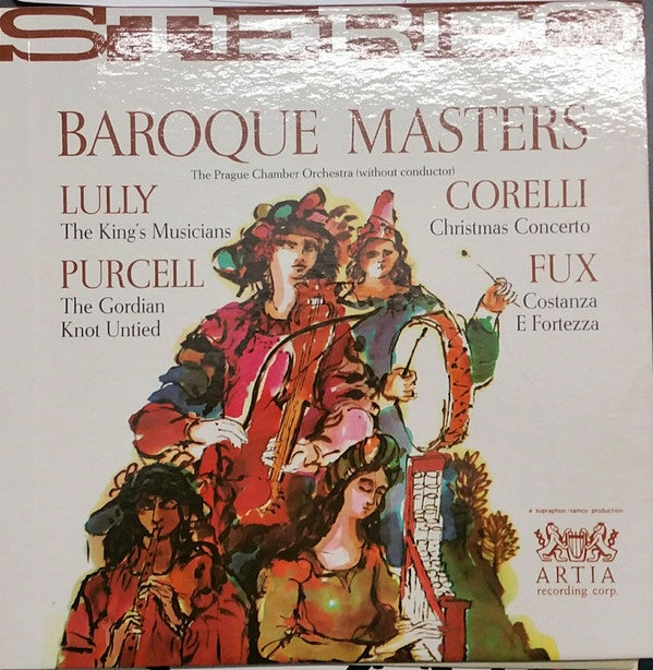 Prague Chamber Orchestra ‎– Baroque Masters - Mint (Sealed) Lp Record 1962 USA Original Vinyl - Classical