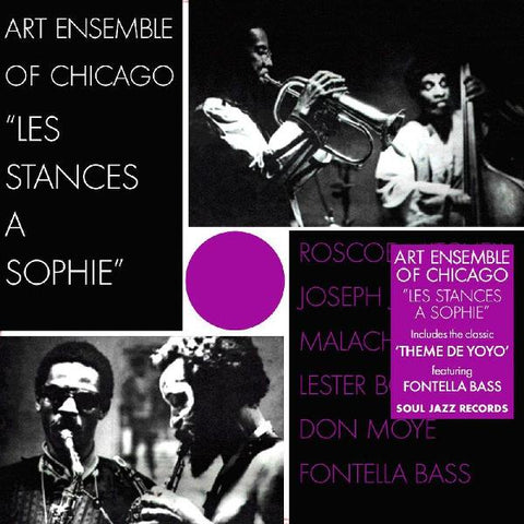 Art Ensemble Of Chicago - Les Stances A Sophie (1970) - New Vinyl Lp 2018 Soul Jazz Records Reissue with Gatefold Jacket - Free-Jazz / Jazz-Funk