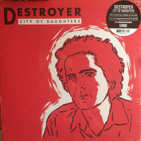Destroyer ‎– City Of Daughters (1998) - New Vinyl Lp 2018 Merge Limited Edition 1st Pressing on Red Vinyl with Download - Indie / Folk Rock