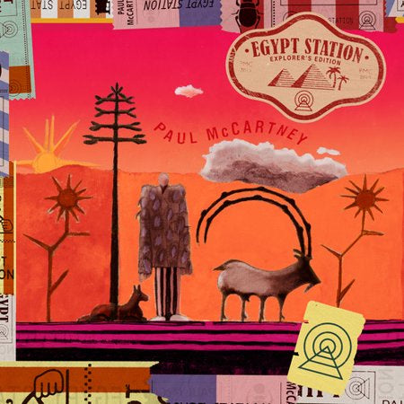 Paul McCartney - Egypt Station - New 2019 Record Strictly Limited Explorer's Edition 3LP on 180 gram Vinyl - Rock